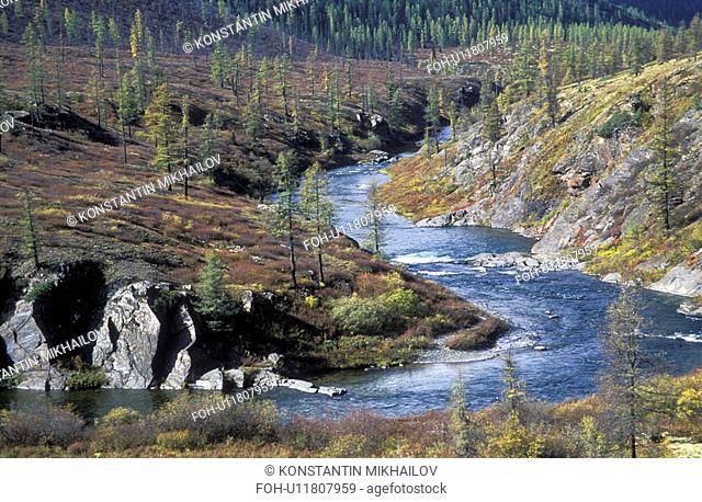 Baikal, East Siberia, Eatern Siberia, Siberia, bend, curve, landscape