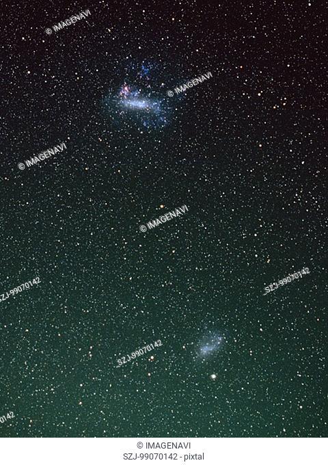 Large Magellanic Cloud and Small Magellanic Cloud