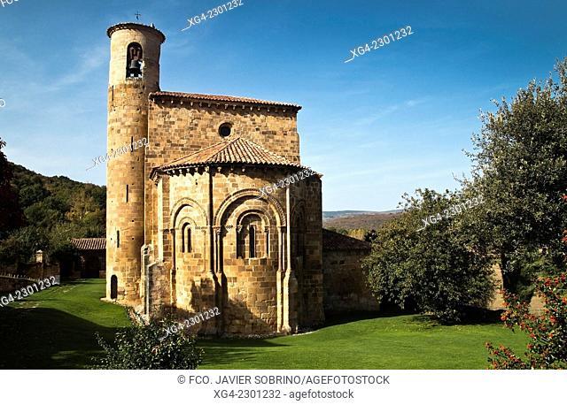 Colegiata de San Martín de Elines – Valderredible - Cantabria – España - Europa