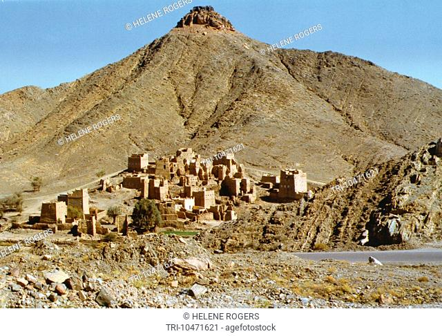 Azir Mountains Saudi Arabia Village Near To Najaram