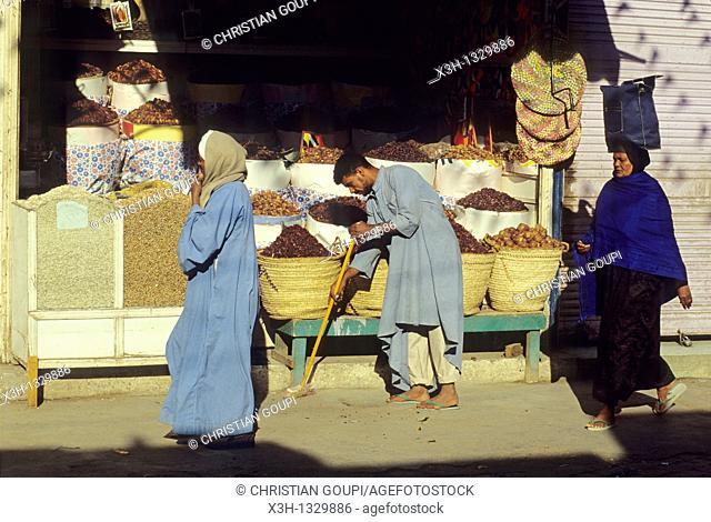 street of Aswan, Egypt, Africa
