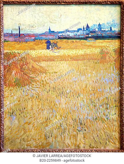 The Harvesters. Vincent Van Gogh. Rodin Museum. Paris. France