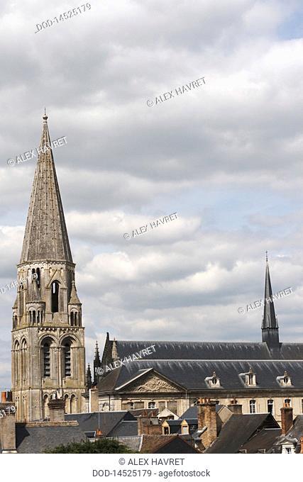 France, Loire, Vendome, Abbey Church of Trinidad