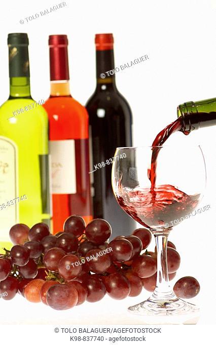 Wines. Majorca, Balearic islands, Spain