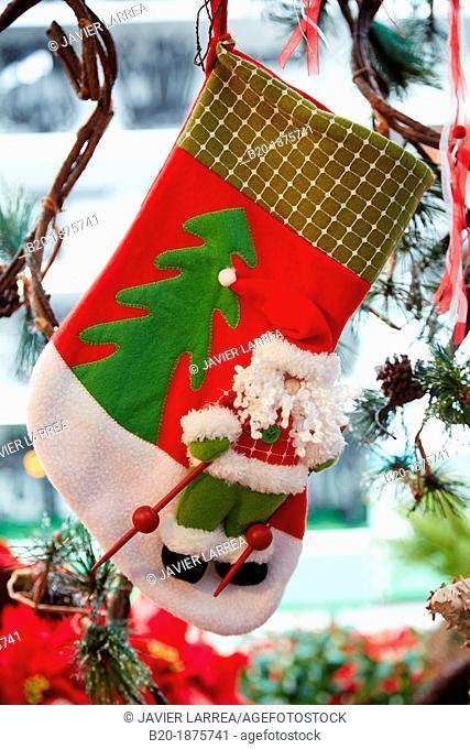 Sock, Christmas decoration, Christmas Shopping
