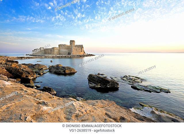 Isola di Capo Rizzuto, Crotone, Aragonese castle, Le Castella, Italy, Calabria, Europe