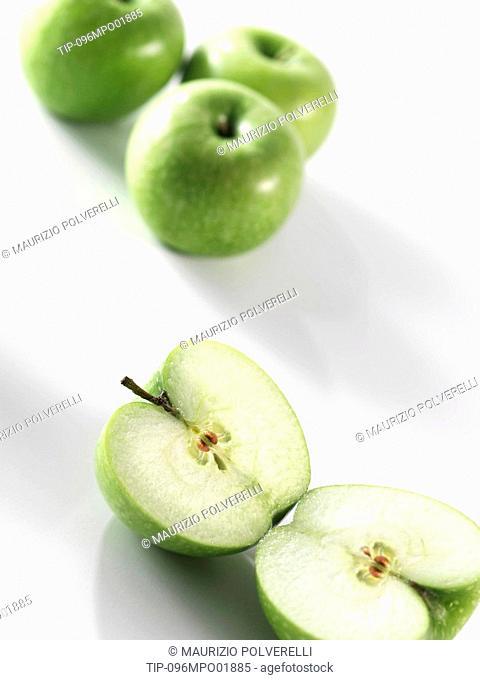 'Granny smith' apple, close-up