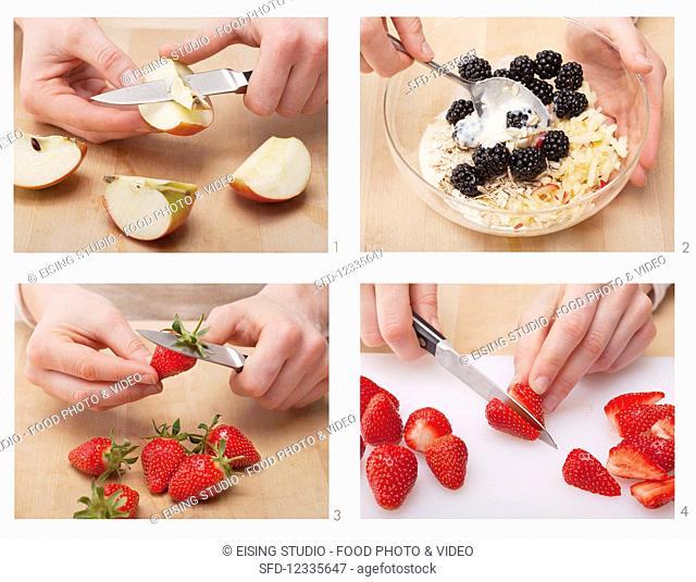 How to make fruit muesli