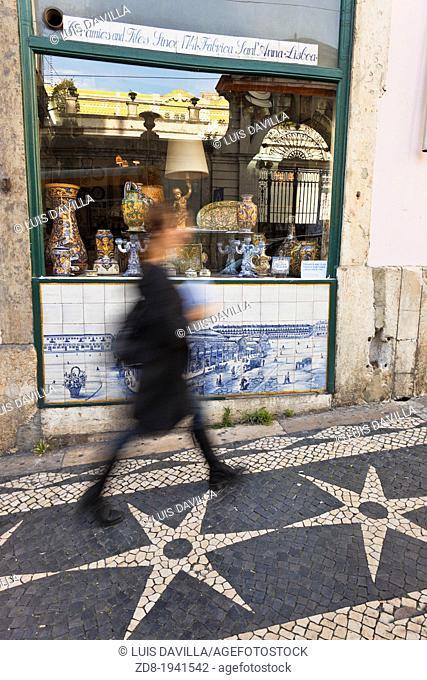 fabrica santa ana azulejos in lisbon. portugal