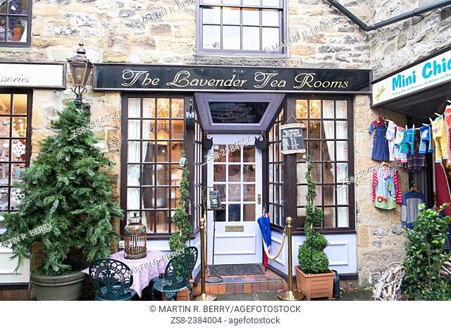 Bakewell, a market town in Derbyshire peak district,england