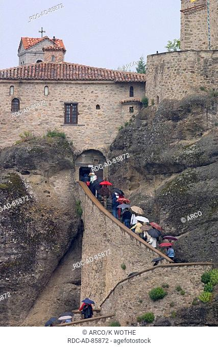 Meteora Monastery Varlaam Thessaly Greece