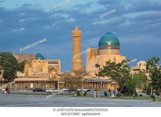 Uzbekistan ,Bukhara City, kalon Minaret