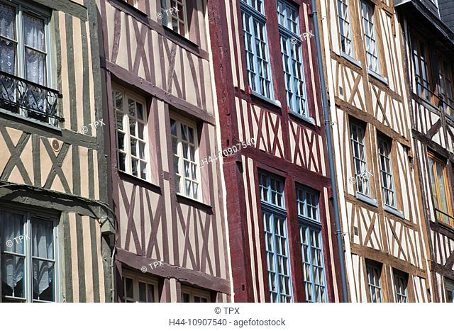 Europe, France, Rouen, Street Scene, Tourism, Travel, Holiday, Vacation