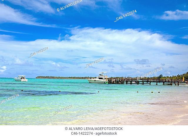 Bavaro beach, Punta Cana, Dominican Republic, West Indies, Caribbean