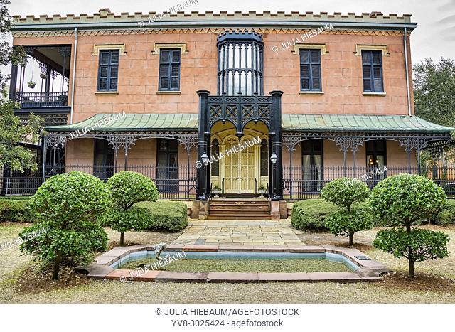The Green Meldrim House in Savannah, Georgia