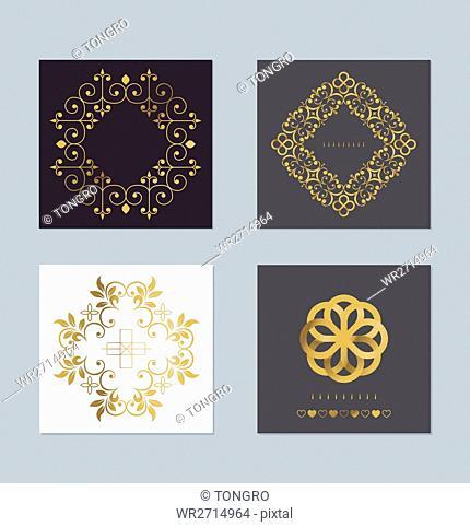 Luxurious invitation cards