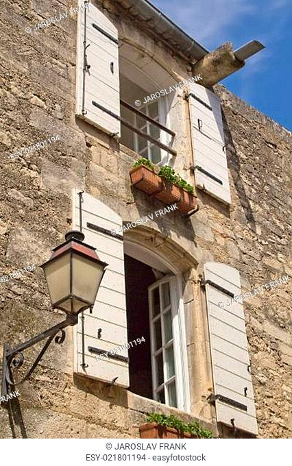 Typical Provencal stone house