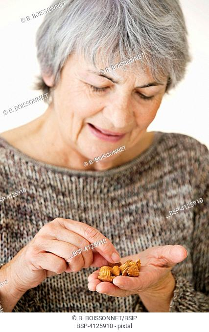 ELDERLY PERSON EATING