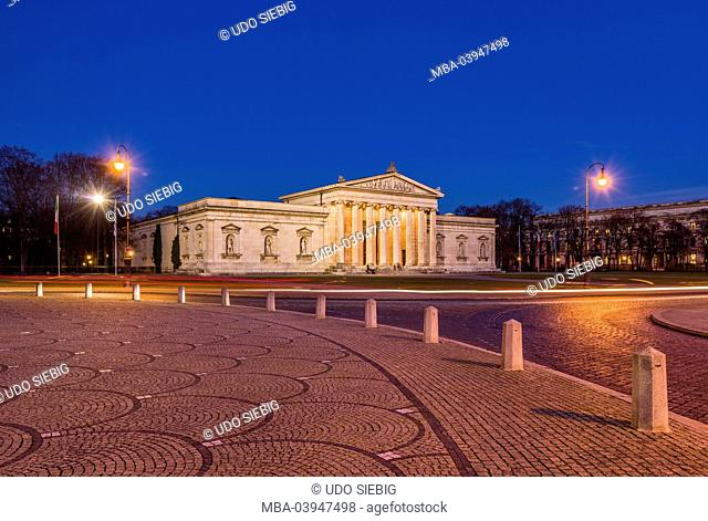 Germany, Bavaria, Upper Bavaria, Munich, Maxvorstadt, Königsplatz (square), Glyptothek
