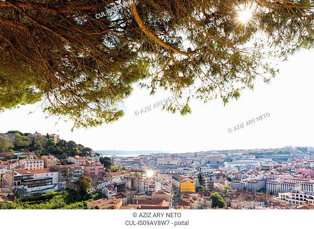 Miradouro da Senhora do Monte, Lisbon, Portugal