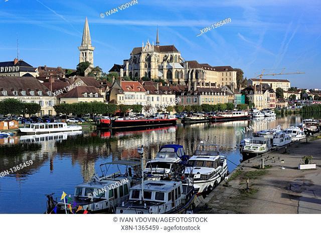 Abbey of Saint-Germain, Auxerre, Yonne department, Burgundy, France