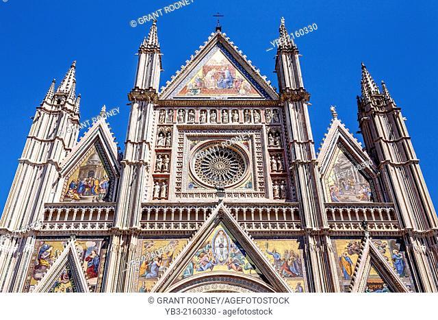 The Duomo, Orvieto, Umbria, Italy