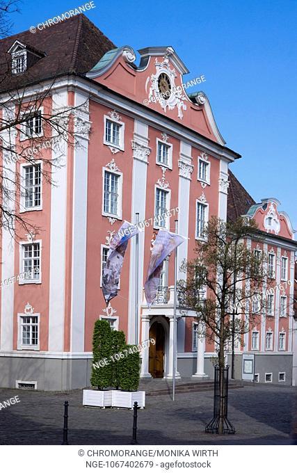 Neues Schloss, New Castle, Entrance, Meersburg, Lake Constance, Baden-Wuerttemberg, Germany, Europe