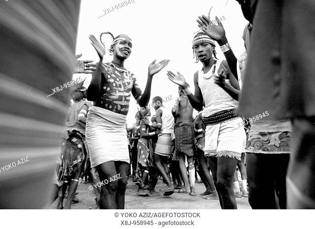 ethiopia, omo valley, hamer tribe