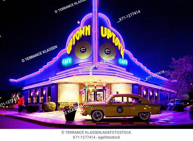 The Uptown Cafe Diner in Branson, MIssouri, USA
