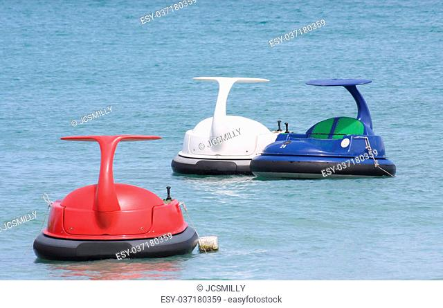 Jet ski or water scooter on Thalland ocean