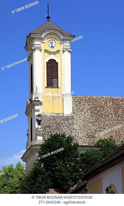 Hungary, Szentendre, St Peter-Paul catholic church,