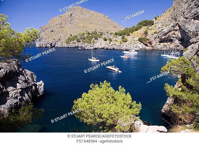 La Calobra, Majorca. Balearic Islands. Spain