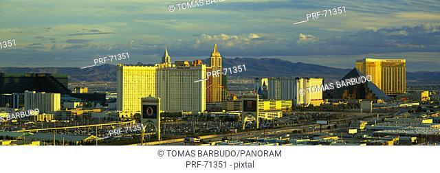 Afternoon The Strip Las Vegas NV USA