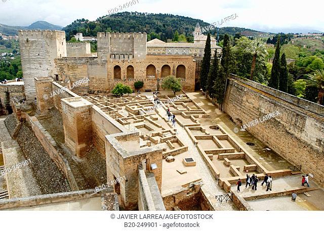 Alcazaba, Alhambra. Granada. Spain