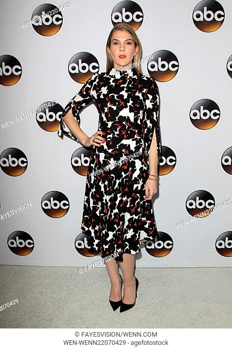 Disney & ABC Television Group's TCA Winter Press Tour - Arrivals Featuring: Lily Rabe Where: Pasadena, California, United States When: 14 Jan 2015 Credit:...