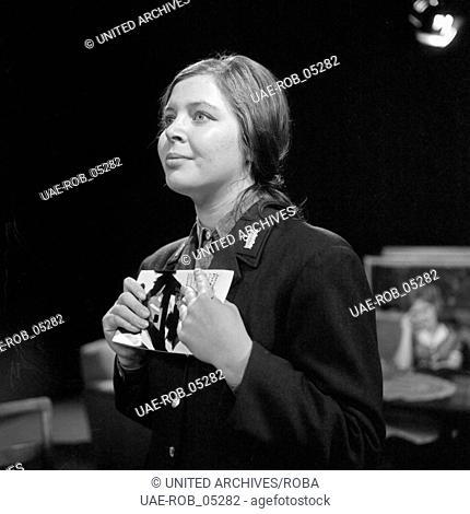 Die Kette an Deinem Hals, Deutschland 1964, Fernsehspiel, Regie: Claus Peter Witt, Darsteller: Marion Hartmann