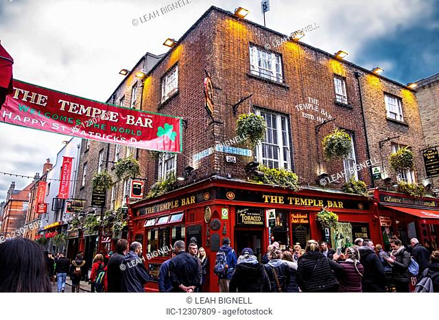 The Temple Bar; Dublin, Ireland