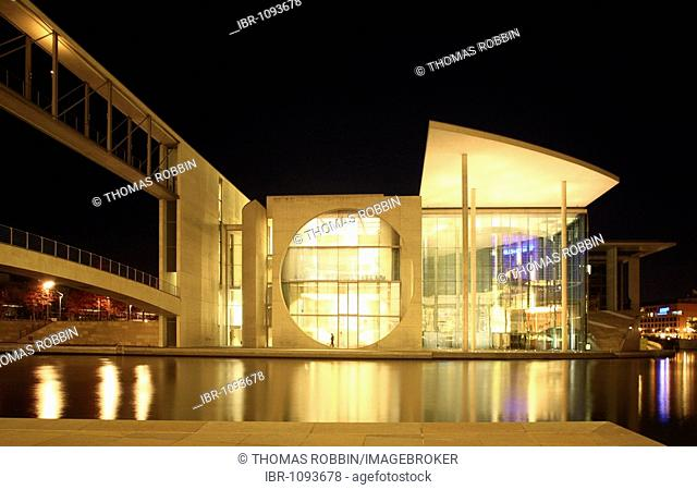 Paul-Loebe-Haus and Marie-Elisabeth-Lueders-Haus buildings, Bundestag administration building, Mitte, Berlin, Germany, Europe