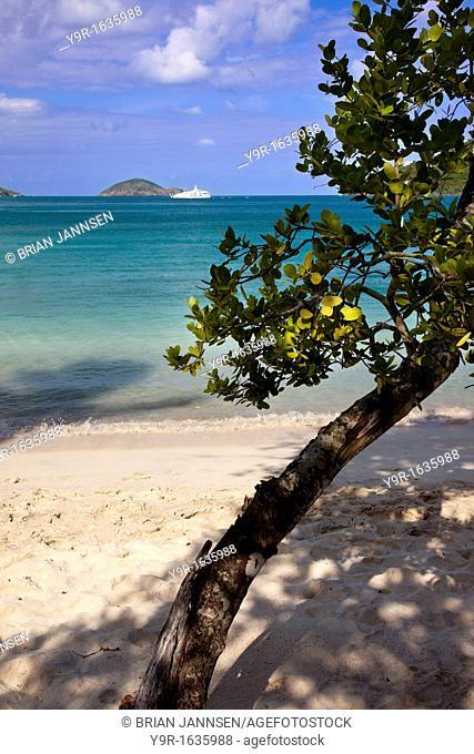Megan's Bay Beach, St  Thomas, US Virgin Islands