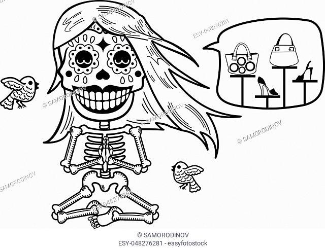 Rabbit Bone Skeleton Stock Photos And Images