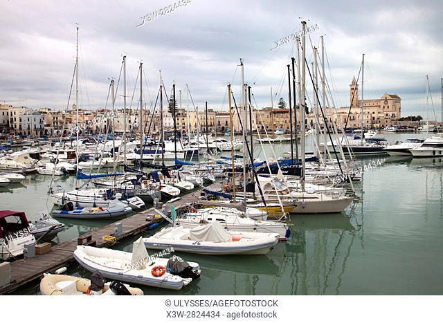port, Trani, Puglia, Italy, Europe