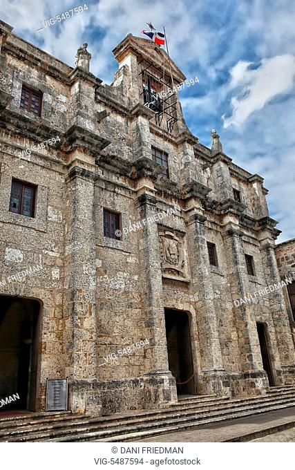 The Panteon Nacional located in the city of Santo Domingo in the Dominican Republic. The Panteon Nacional was constructed between 1714 and 1745 as a Jesuit...