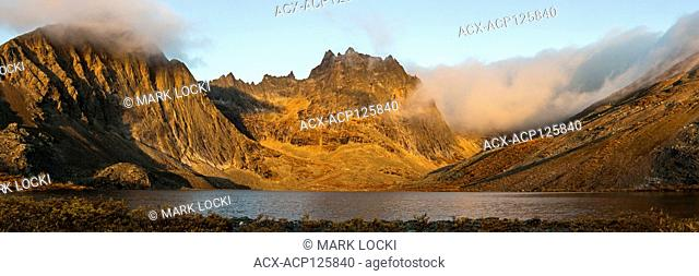 Sunrise at Grizzly Lake, Tombstone Territorial Park, British Columbia, Canada