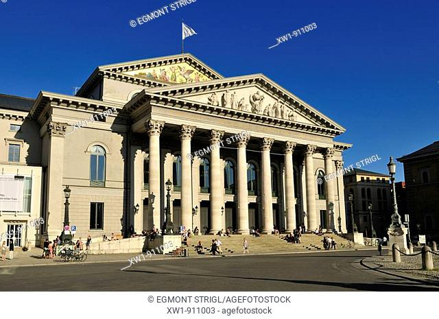 Bayerische Staatsoper, State Opera House, München, Munich, Bavaria, Germany, Europe