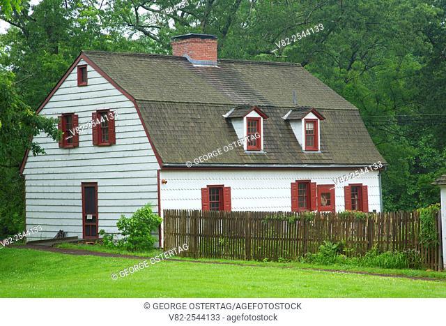 Johnson Ferry House, Washington Crossing Historic Park, New Jersey