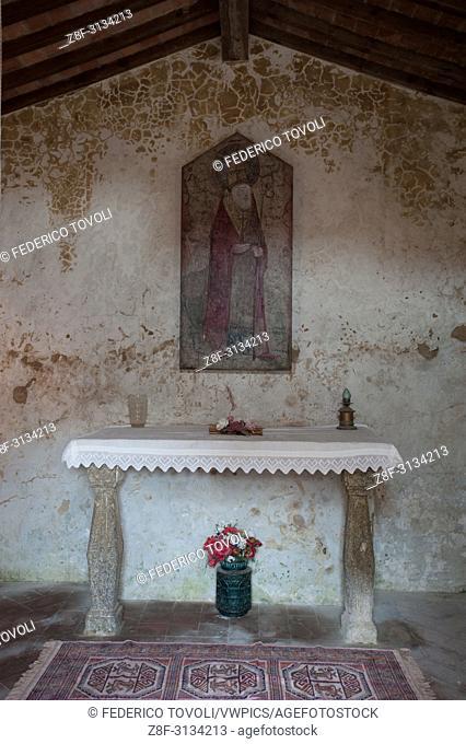 little chapel into Marcana village