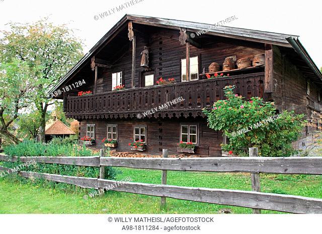 Farmhouse Museum Lindberg, Bavarian Forest, Bavaraia, Germany, Europe