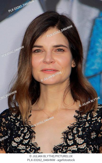 """Betsy Brandt 03/22/2017 """"""""Power Rangers"""""""" Premiere held at the Westwood Village Theater in Westwood, CA Photo by Julian Blythe / HNW / PictureLux"""