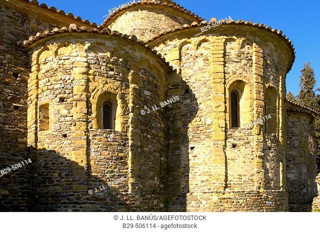 Sant Miquel de Cruïlles. Spain