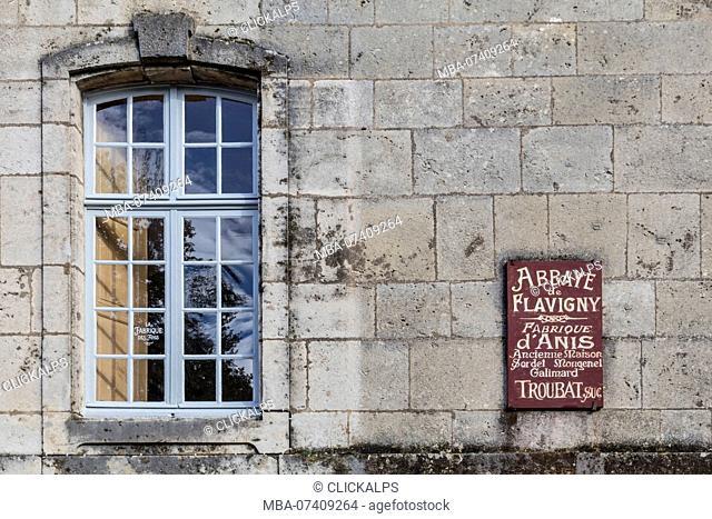 Flavigny-sur-Ozerain, Burgundy, France, Europe. Anis de Abbaye de Flavigny